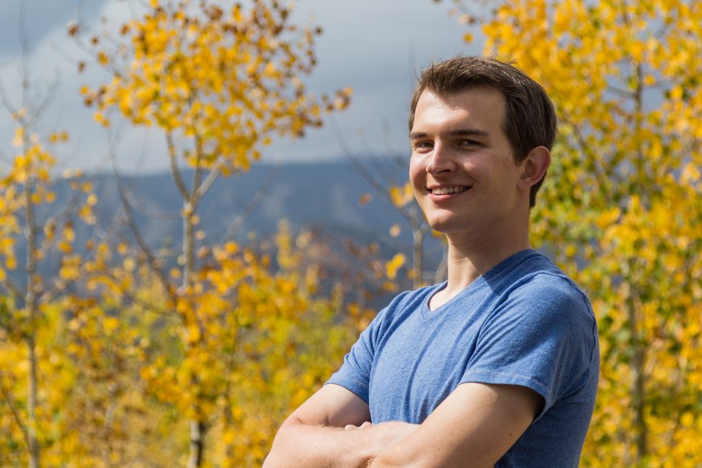 Vasily Vasinov in the fall